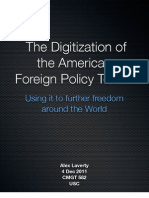 The Digitization of the American Foreign Policy Toolkit