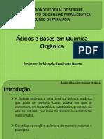Acidos e Bases Orgânicas PDF