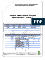 RT-VPDSAP-GGRO-003 - Sistema de Gestión de Riesgos Operacionales (SISGRO) (presentación)