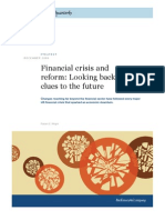 MQ - Financial Crisis and Reform