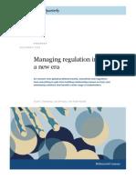 MQ - Managing Regulations in a New Era