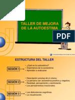 6689023 a a a Espanol Pps Taller de Mejora de La Autoestima