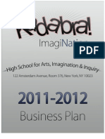 ImagiNation Inc. 2011-2012 Business Plan