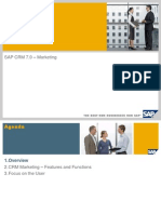 Overview Marketing With SAP CRM 7.0_final 2011