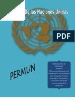 PROYECTO PERMUN (Manual Del Delegado)