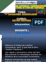 Edicion de Gestion Tributaria