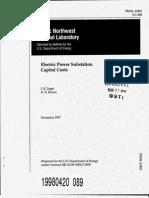 Substation Capital Cost 2