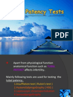 Tubal Patency Tests