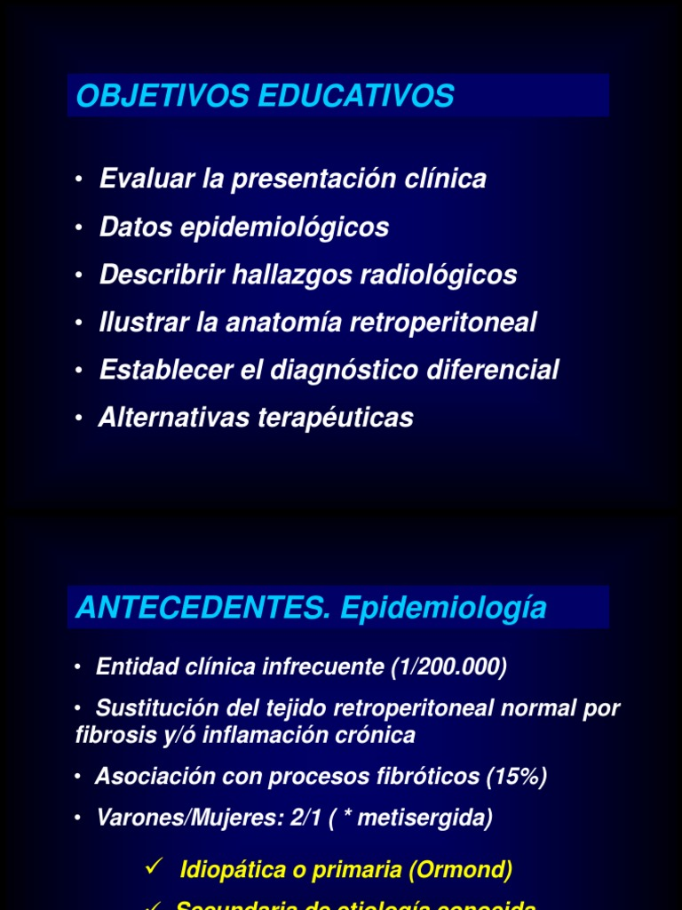 Fibrosis Retroperitoneal
