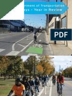 Bike Ways 2012 Report