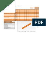 Anexo Del Ejemplo de Valor Ganado en Excel