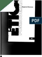 Zygmunt Bauman, Ética postmoderna. cap. 0,1,2,3,6