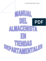 Manual Del ALmacenista