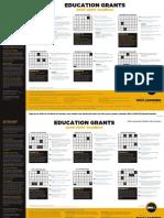 K12 Grants Calendar
