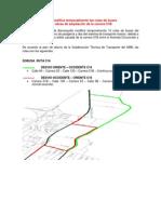 AMB MODIFICA TEMPORALMENTE  RUTAS DE BUSES POR OBRAS DE AMPLIACIÓN DE LA CARRERA 51 (1)