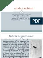 Listeriosis y Ambiasis