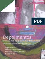 Livro Depoimentos Miriam Grossi