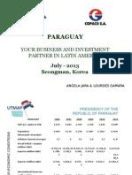 Presentación Korea-e Gov Paraguay JUL 2013