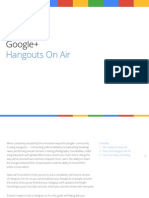 Hangouts on Air Technical Guide
