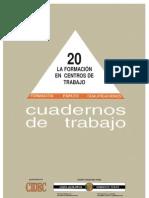 CIDEC_LaFormacionEnCentrosDeTrabajo_1996