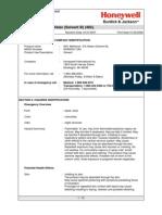 Methanol Water Solvent B 95 5 (482) October 31 2007