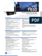 Relay GE Multilin f650