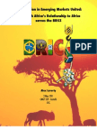 Globalization in Emerging Markets United- How South Africa's Relationship to Africa serves the BRICS