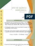 I SEMINÁRIO DE QUÍMICA INORGÂNICA (2)