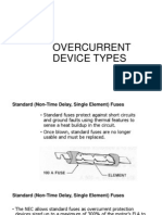 Overcurrent and Overload Devices