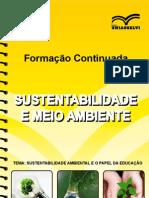 Sustentabilidade Ambiental e o