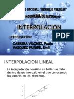 Interpolacion Expo
