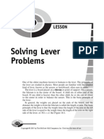 Lever Problems