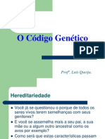O Codigo Genetico