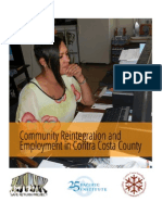 Community Reintegration and Employment in Contra Costa County