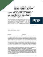 ARG. El Estado, los actores sociopóliticos y el modelo de acumulación