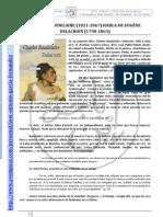 Charles Baudelaire Habla de Delacroix