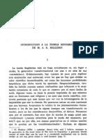 Introducción a la teoría sistémica de MAK Halliday
