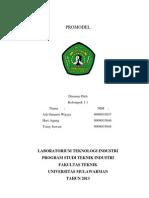 Pembuatan Studi Kasus Dengan Promodel