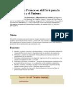 Comisión de Promoción del Perú para la Exportación y el Turismo