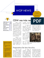 Ed 3. WOP News - Resultados CDW