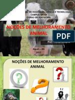 Nocoes de Melhoramento Animal_aula1_2012.2 Eja
