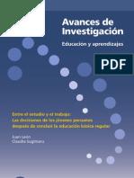 ENTRE EL ESTUDIO Y EL TRABAJO-JÓVENES