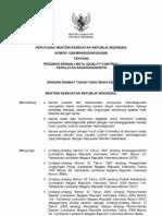 KMK No. 1250 Ttg Kendali Mutu Radiodiagnostik