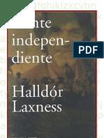 Laxness Halldor - Gente Independiente