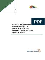 01  Manual de contenidos mínimos para la elaboración del PEI