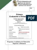 1ra Evaluacion a Distancia PEAD 2013 - DESA