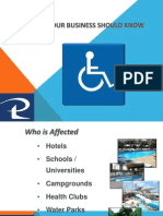 ADA Pool Lift Guideines and comparison guide