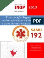 Plano de Ação Regional de implantação do SAMU 192