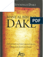 MANUAL BÍBLICO DAKE