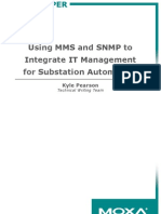 Using MMS and SNMP to Integrate IT Management